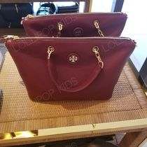 2018AW♪ Tory Burch★ WHIPSTITCH LOGO SMALL SLOUCHY SATCHEL
