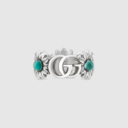 GUCCI(グッチ)☆Double G flower ring☆フラワーリング☆関税込