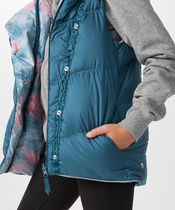 【 Knock Down The Cold Vest  Reversible 】★ Tonic Teal/