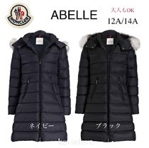 MONCLER(モンクレール) キッズアウター 新作! 大人もOK 18/19秋冬 モンクレール ファー付ABELLE 12A/14A
