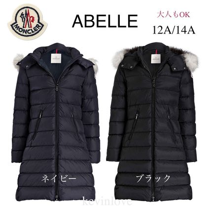 MONCLER キッズアウター 新作! 大人もOK 18/19秋冬 モンクレール ファー付ABELLE 12A/14A