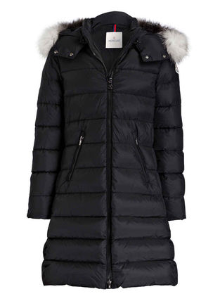 MONCLER キッズアウター 新作! 大人もOK 18/19秋冬 モンクレール ファー付ABELLE 12A/14A(2)