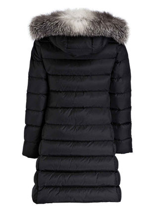 MONCLER キッズアウター 新作! 大人もOK 18/19秋冬 モンクレール ファー付ABELLE 12A/14A(3)
