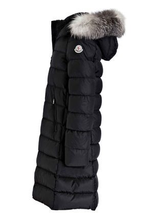 MONCLER キッズアウター 新作! 大人もOK 18/19秋冬 モンクレール ファー付ABELLE 12A/14A(4)