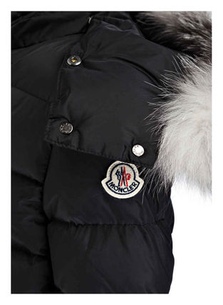 MONCLER キッズアウター 新作! 大人もOK 18/19秋冬 モンクレール ファー付ABELLE 12A/14A(5)