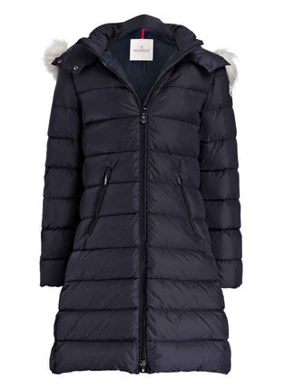 MONCLER キッズアウター 新作! 大人もOK 18/19秋冬 モンクレール ファー付ABELLE 12A/14A(6)