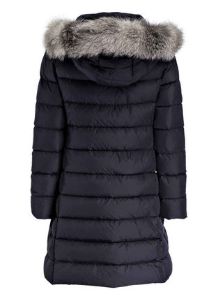 MONCLER キッズアウター 新作! 大人もOK 18/19秋冬 モンクレール ファー付ABELLE 12A/14A(7)