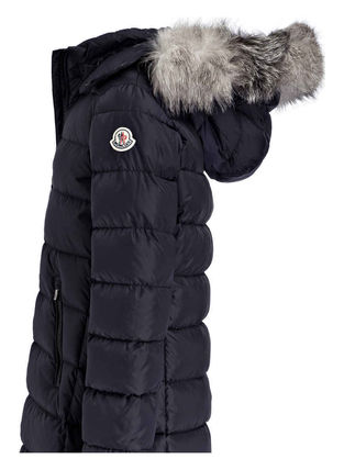 MONCLER キッズアウター 新作! 大人もOK 18/19秋冬 モンクレール ファー付ABELLE 12A/14A(8)