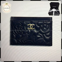 18AW新作【国内発送】CHANEL◆バラが上品♪カードケース