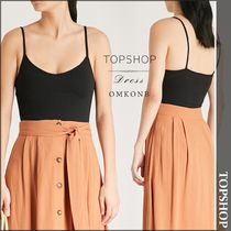 【国内発送・関税込】TOPSHOP★Ribbed stretch-knit body