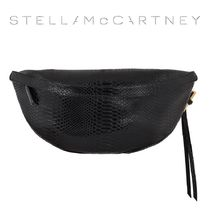 STELLA MCCARTNEY ステラ Black bumbag ウエストポーチ