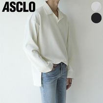 ASCLO(エジュクロ) Tシャツ・カットソー ★ASCLO★ ver henley neck t shirts