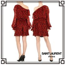 国内発送・関税込SAINT LAURENT ASYMMETRIC DRESS