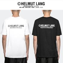 HELMUT LANG(ヘルムート ラング) Tシャツ・カットソー [ HELMUT LANG ] バックプリントTaxi ロゴ S/S Tシャツ