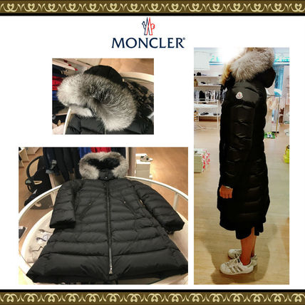 MONCLER キッズアウター 関税込★MONCLER★2018-19AW★豪華なFOXファー12/14歳 ABELLE
