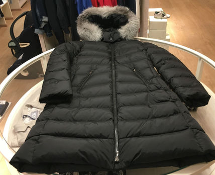 MONCLER キッズアウター 関税込★MONCLER★2018-19AW★豪華なFOXファー12/14歳 ABELLE(5)