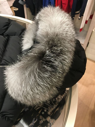 MONCLER キッズアウター 関税込★MONCLER★2018-19AW★豪華なFOXファー12/14歳 ABELLE(9)