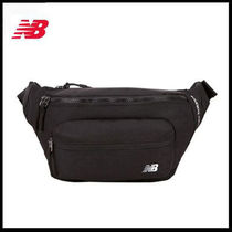 (ニューバランス) SOLID WAISTBAG Black NBGC8F7201