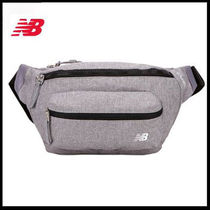 (ニューバランス) SOLID WAISTBAG Grey NBGC8F7201