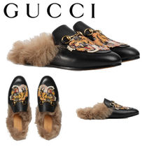 GUCCI グッチ Princetown leather slipper スリッパ 471955