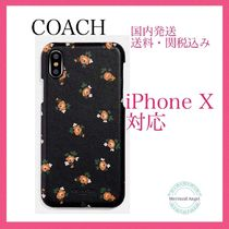 COACH Iphone X Case With Floral Bloom Print