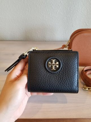 Tory Burch 折りたたみ財布 【即発◆3-5日着】TORY BURCH◆WHIPSTITCH LOGO MINI WALLET
