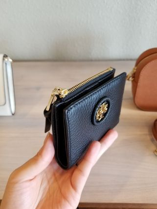 Tory Burch 折りたたみ財布 【即発◆3-5日着】TORY BURCH◆WHIPSTITCH LOGO MINI WALLET(2)