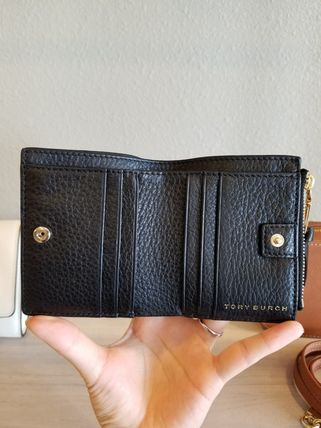 Tory Burch 折りたたみ財布 【即発◆3-5日着】TORY BURCH◆WHIPSTITCH LOGO MINI WALLET(6)