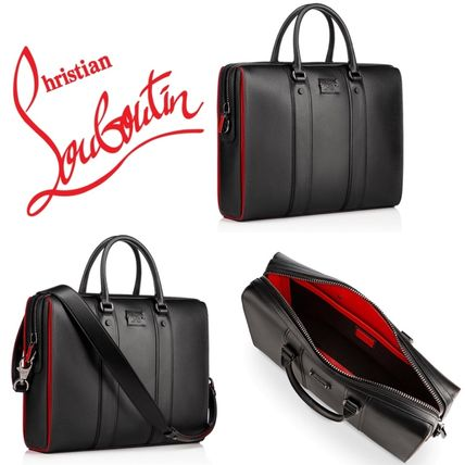 b7fa5ee7a590 Christian Louboutin ビジネスバッグ・アタッシュケース 新作!クリスチャンルブタン CL Streetwall Briefcase  ...