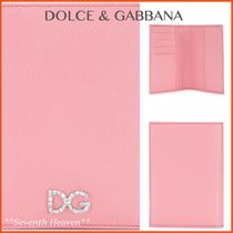 送料関税込み☆DOLCE & GABBANA logo passport cover