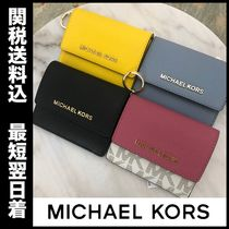 国内即発☆MICHAEL KORS JET SET TRAVEL CardCase ID Key Holder