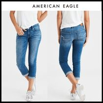 ☆American Eagle Outfitters☆ デニムクロップパンツ