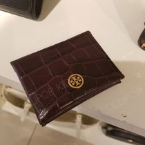 2018AW♪  Tory Burch ★ PARKER EMBOSSED FOLDABLE CARD CASE