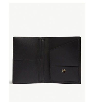 Mulberry 雑貨・その他 『送料無料』MULBERRY ホイルロゴレザーパスポートカバー