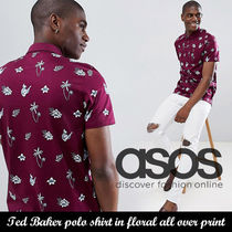 ASOSセレクト◆Ted Baker polo shirt in floral all over print