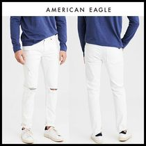 American Eagle Outfitters(アメリカンイーグル) デニム・ジーパン ☆American Eagle Outfitters☆ コットン混ダメージパンツ