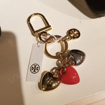 2018AW♪ Tory Burch★ LAYERED HEART KEY FOB