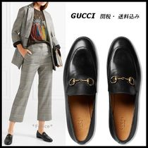 *GUCCI*Jordaan leather loafer ブラック 関税/送料込