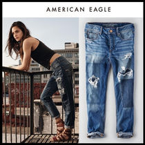 American Eagle Outfitters(アメリカンイーグル) デニム・ジーパン ☆American Eagle Outfitters☆Charlotte tomgirl patched pants