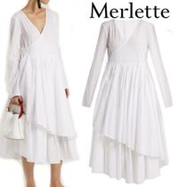 梨花さん愛用ブランド★merlette★Andaman asymmetric dress