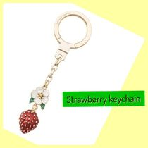 kate spade /キーリング/ strawberry keychain