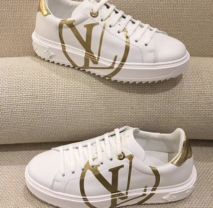 ★LOUIS VUITTON 2018 最新作★TIME OUT SNEAKER white/gold