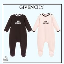 GIVENCHY☆BABY コットンロゴグロー black/pink 1-18M