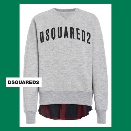 ☆D SQUARED2☆ シャツの裾デザインスウェット♪ 大人OK~16A