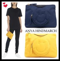 【AnyaHindmarch♡海外発】chubby wink クラッチバッグ 2色