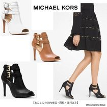 Michael Kors【国内発送】Blaze Open-Toe Leather Bootie☆3色