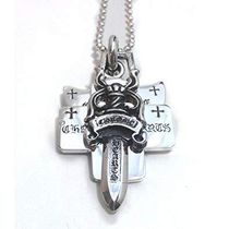 CHROME HEARTS THREE TRINKETS PENDANTインボイス送料込み