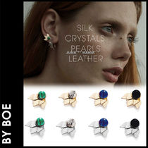 by boe(バイボー) ピアス ★追跡付【BY BOE】E695/Layered Petal Studs