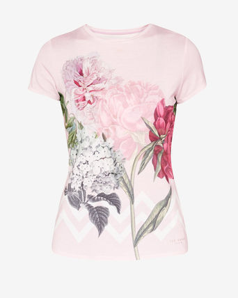 Ted Baker GEREE Palace Gardens fitted T-shirt 即発送限定一点
