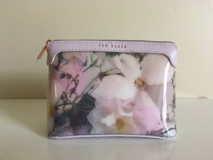 Ted Baker TILE FLORAL SMALL MAKEUP BAG ポーチ 即発送